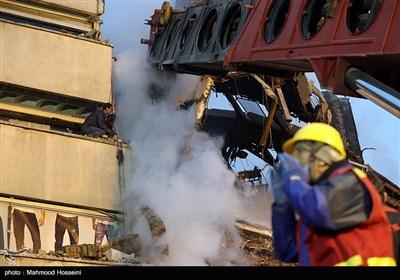 عملیات آوار برداری ساختمان پلاسکو - 8