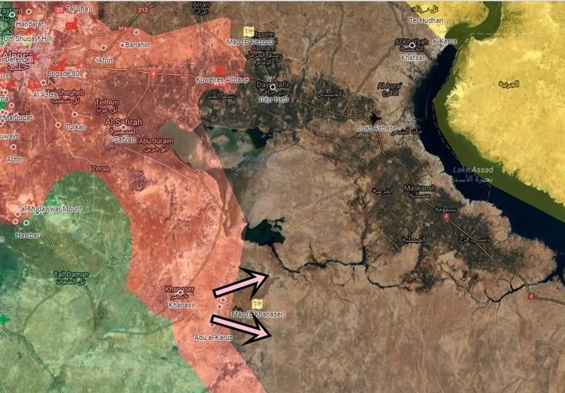 Suriye Ve Hizbullah Halep'in Stratejik Bölgesinde Toplanıyor