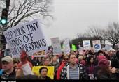 تظاهرات علیه ترامپ در آمریکا ادامه دارد