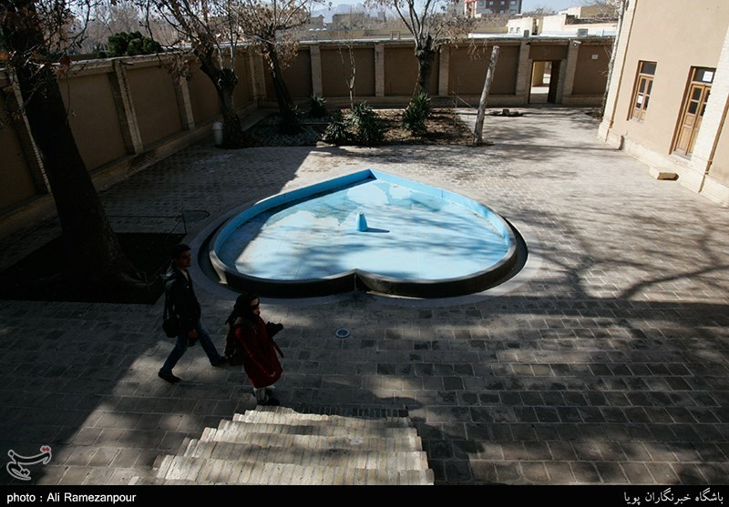 Imam Khomeini's Historical House in Khomein, Central Iran