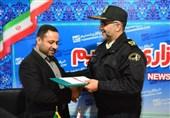 سردار میرحیدری از مدیر خبرگزاری تسنیم در استان گیلان تجلیل کرد