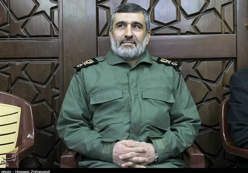 Live Footage of IRGC Missiles Hitting Terrorist Positions Sent to Iran by UAVs: Commander