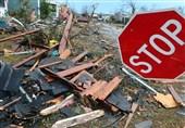 گردباد در آمریکا تاکنون 15 قربانى گرفته است+ فیلم و عکس