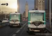 فیلم/آغاز به کار اتوبوسهای بدونراننده در پاریس
