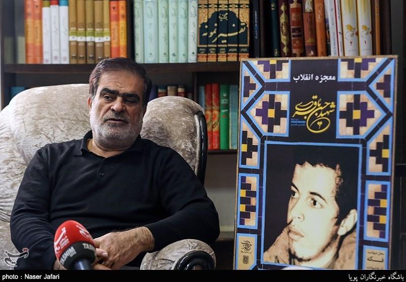 سردار فتح الله جعفری رییس هیات مدیره موسسه شهید حسن باقری