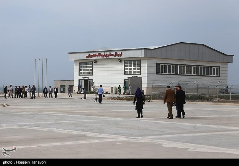 فرودگاه جزیره هندورابی به بهرهبرداری رسید