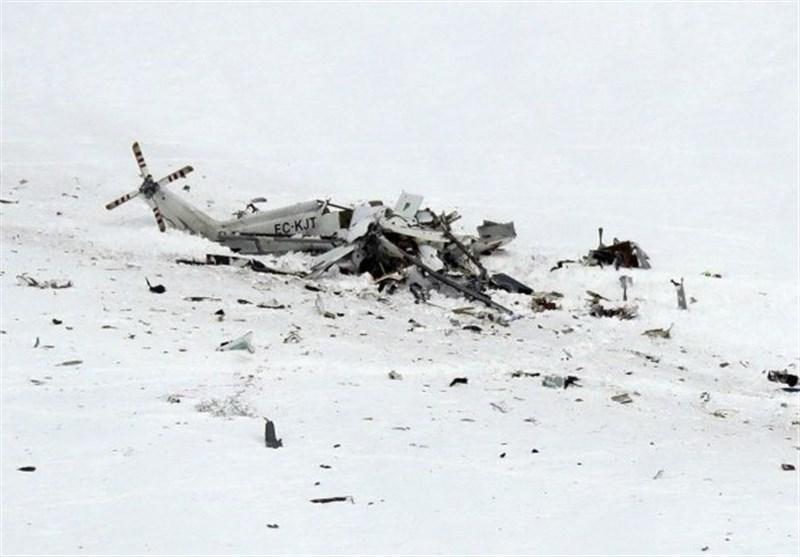 یک فروند بالگرد در ارومیه سقوط کرد