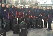 استقبال رسانههای مالدیو از تیم ملی والیبال بانوان