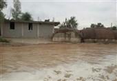 4 روستا در محاصره سیل؛ شمار تخریب منازل در داراب رو به افزایش است