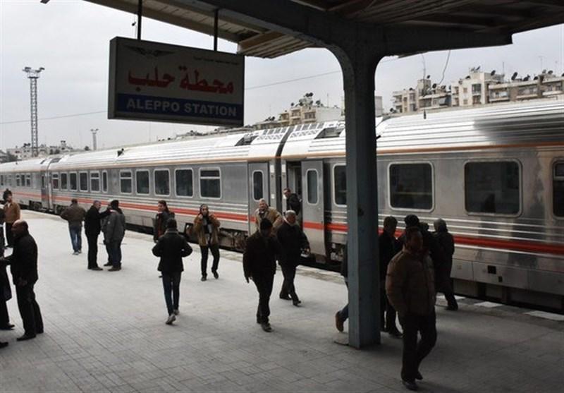 إستئناف نشاط القطار بین شرق حلب وغربها