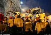 More Bodies Recovered from Rubble of Collapsed Building in Tehran