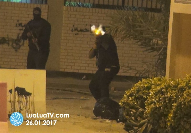 Edderaz'da Bahreyn Rejimi Göstericilere Saldırdı