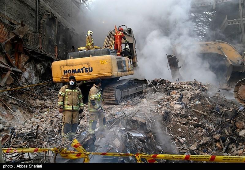 پلاسکو حادثہ میں شہید ہونے والے 12ویں فائرفائٹر کی لاش نکال لی گئی