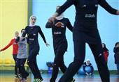 نخستین تمرین تیم ملی والیبال بانوان در مالدیو