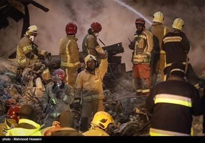 پلاسکو حادثہ؛ شہداء کے پیکر نکالنے کیلئے جاری آپریشن کا آٹھواں روز