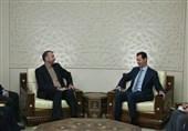 اسد: ایران بزرگترین حامی سوریه است/ تأکید امیرعبداللهیان بر تداوم حمایت از دمشق