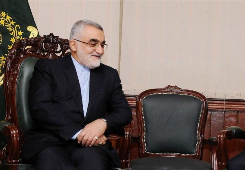 بروجردی: إیران ستواصل دعم سوریة فی حربها ضد الإرهاب