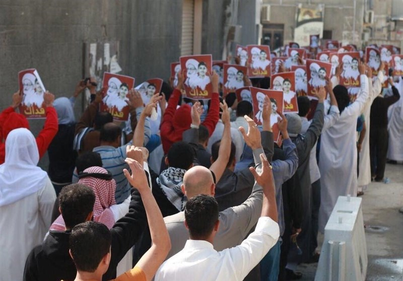 Bahrainis Stage Rallies in Solidarity with Top Shiite Cleric (+Photos, Video)