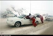 امدادرسانی به 4 هزار گرفتار در برف و کولاک