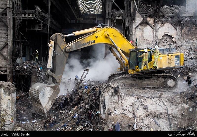Plasco Binasının Enkaz Kaldırma Çalışmaları Sona Erdi