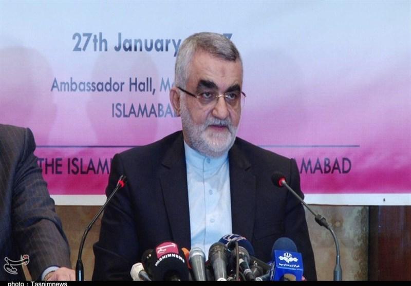 پاک ایران گیس پائپ لائن دونوں حکومتوں کی ترجیحات میں شامل ہے، بروجردی
