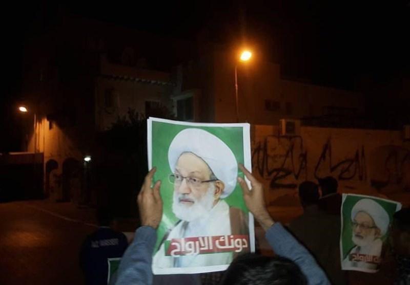 تظاهرات شبانه بحرین