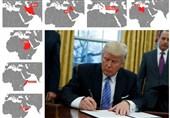 ترامپ ورود ایرانیها و شهروندان 6 کشور مسلمان به آمریکا را ممنوع کرد