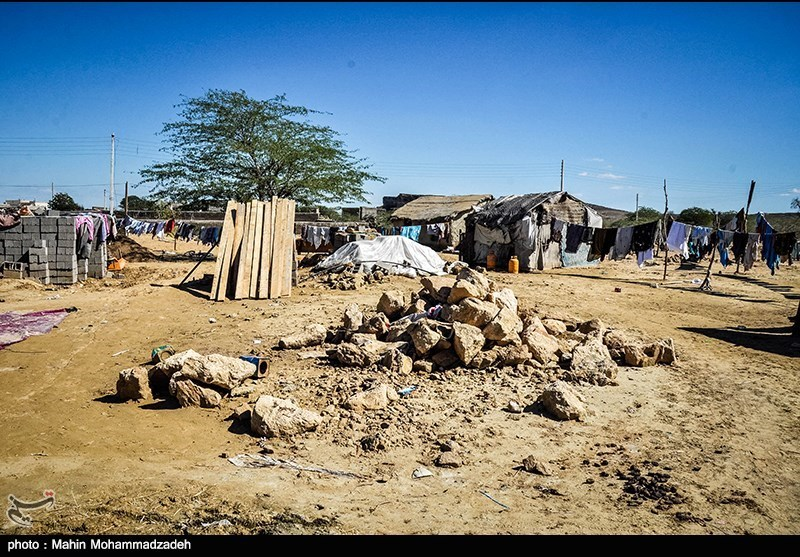 خسارت سیل در روستایی آبکان چابهار