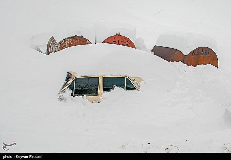 سیل و برف در 11 استان کشور/فوت یک نفر بر اثر سیل در خوزستان