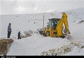 برف و کولاک چهارمحال و بختیاری را فرا میگیرد