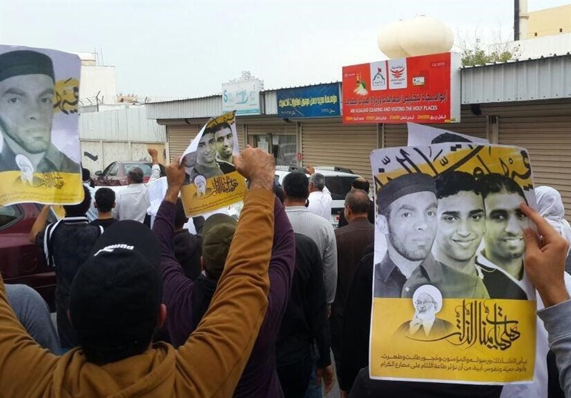 اعتراض بحرین