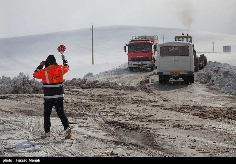 65 محور روستایی در استان قزوین مسدود شد