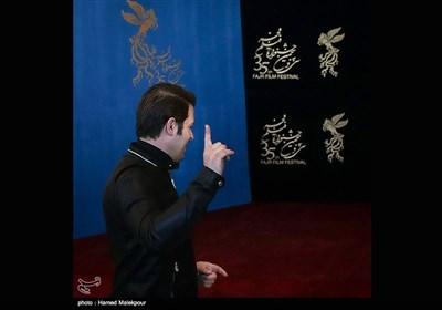پژمان بازغی بازیگر فیلم خانه دیگری در سیوپنجمین جشنواره فیلم فجر