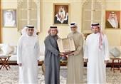 ملاقات خاص روسای فدراسیون فوتبال عربستان و AFC در منامه