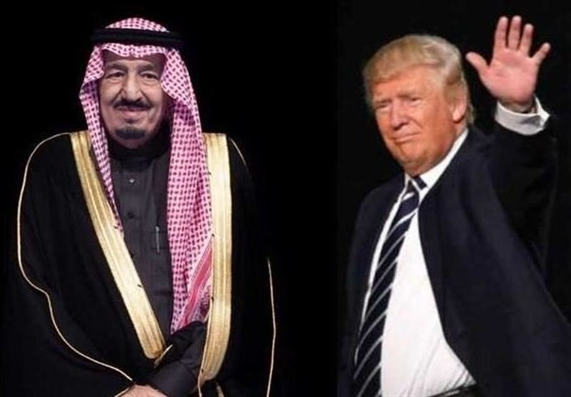 ترامپ و ملک سلمان