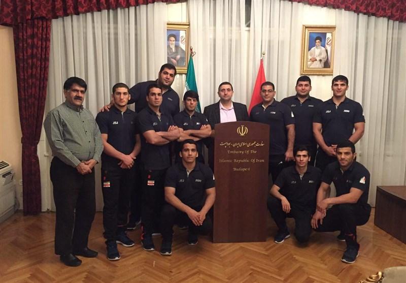 رودکی: تیم ملی جودو روز گذشته میهمان سفارت ایران در بوداپست بود