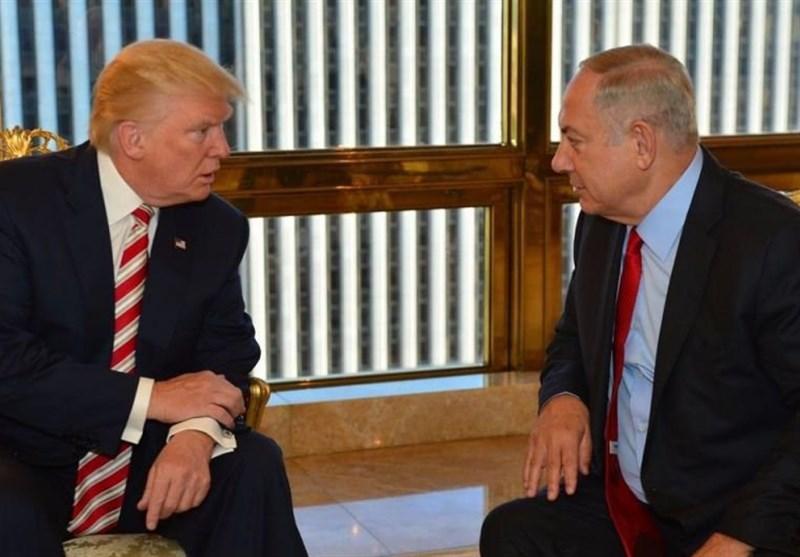 واشنگٹن اور تل ابیب کی مقبوضہ فلسطین کے ٹرمپ دورے سے متعلق مشاورت