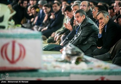 Funeral Held for Heroic Iranian Firefighters Lost in Plasco Tower Blaze