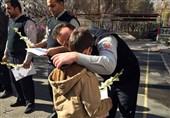 مهاجرین افغانستانی خطاب به آتشنشانان: جان ایران، جان افغانستان است + تصاویر
