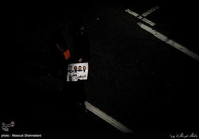 تشییع پیکر شهدای آتش نشان حادثه پلاسکو
