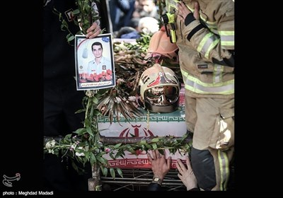 Iran Bids Mournful Goodbye to Selfless Firefighters
