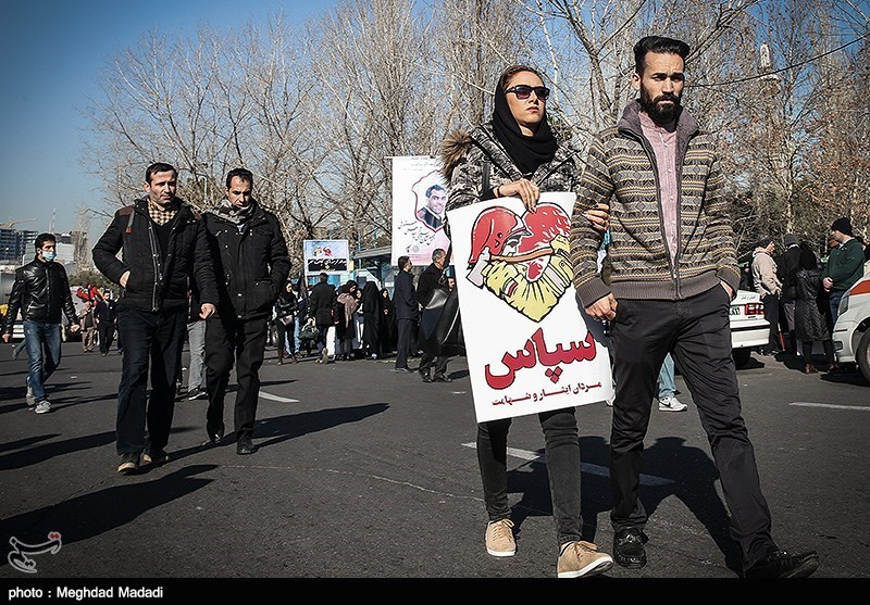 Iran Bids Mournful Goodbye to Selfless Firefighters
