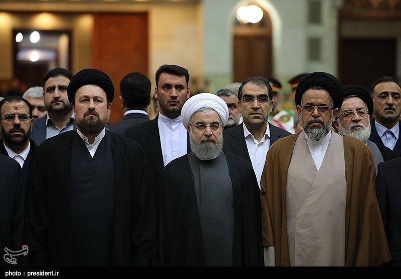 تجدید میثاق هیات دولت با آرمان های امام راحل(ره) و شهیدان