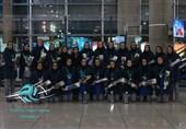 بازگشت تیم ملی والیبال بانوان ایران از مالدیو