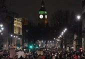 عشرات الالاف یتظاهرون فی لندن: لا للعنصریة لا لترامب