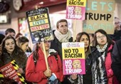 Thousands March across Britain in Protest at Trump Travel Ban
