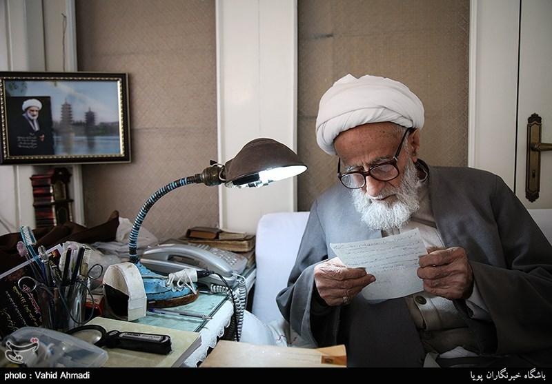 گفتگو با آیت الله محمدعلی فیض گیلانی عضو ارشد جامعه مدرسین