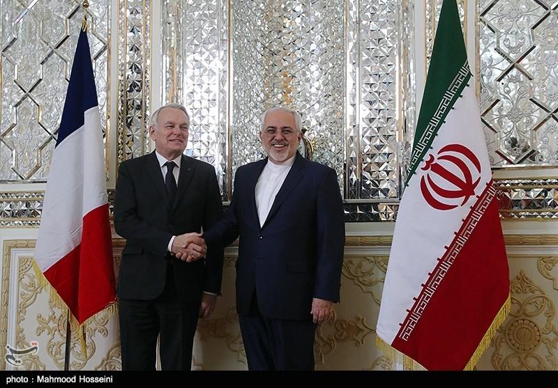 Iran's Zarif Hails Tehran-Paris Growing Ties