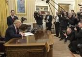 ترامپ برای رئیس جمهور چین نامه نوشت