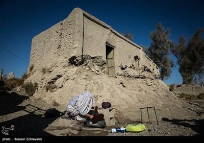 زندگی روزمره در یکی از روستاهای حاشیه زابل در شمال استان سیستان و بلوچستان.